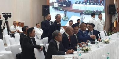 Penetapan Presiden Terpilih di KPU Dihadiri Elite Gerindra