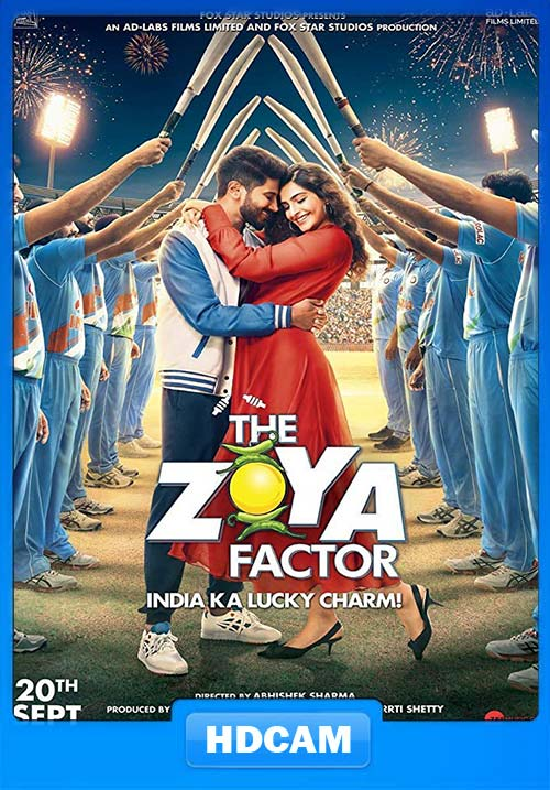 The Zoya Factor 2019 Hindi 720p PreDVDRip x264 | 480p 300MB 100MB HEVC