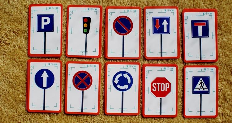 Car Cards znaki drogowe