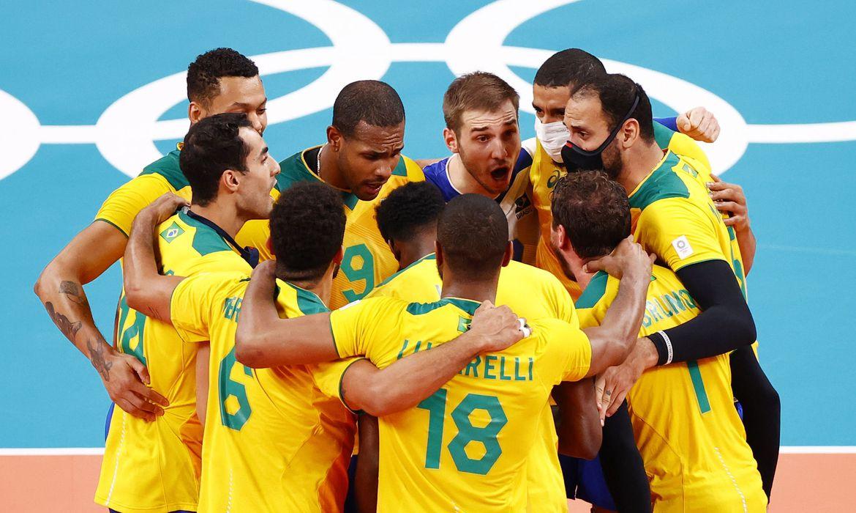 Olimpíadas: Brasil vence Argentina de virada, em duelo emocionante de Vôlei