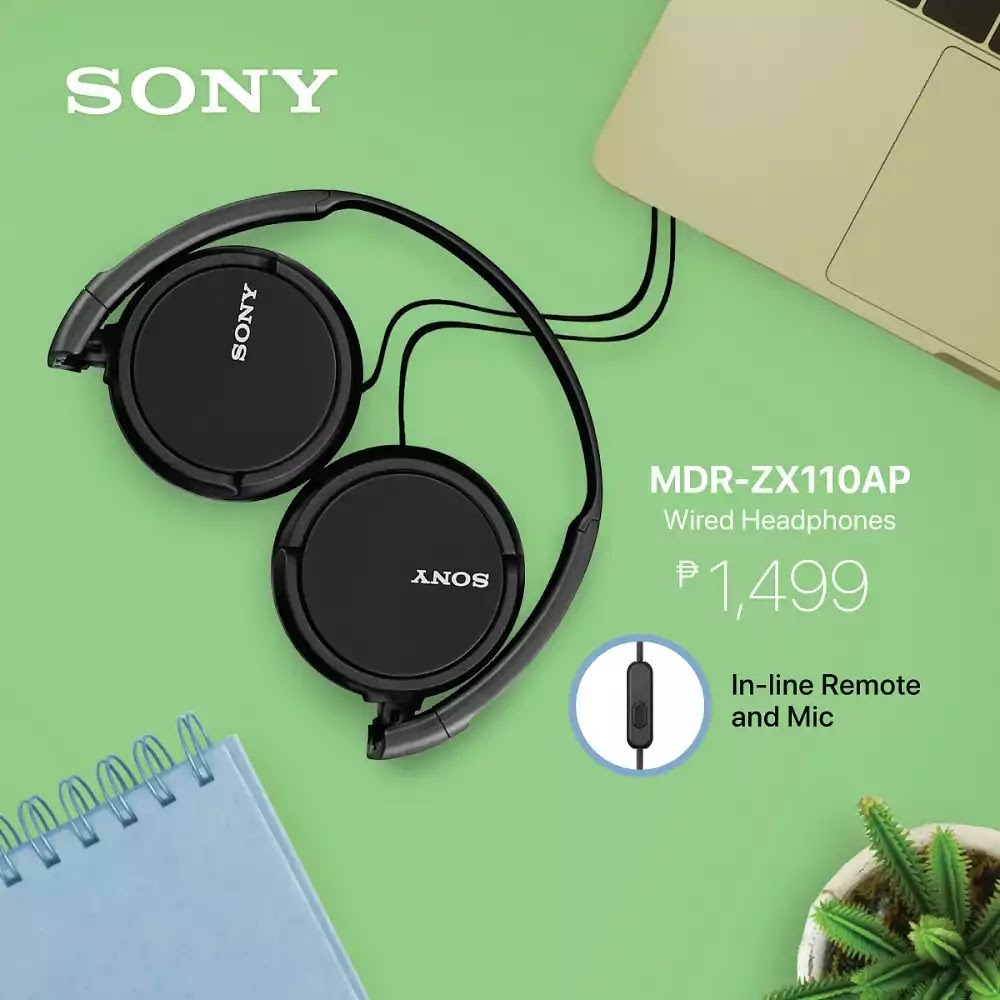 Sony MDR-ZX100AP Wired Headphones