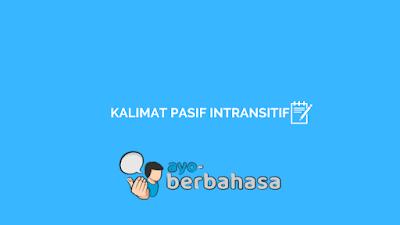 kalimat pasif intransitif