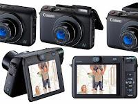Canon PowerShot N100, Desain Mungil Punya Dua Kamera, Harga 4 Jutaan