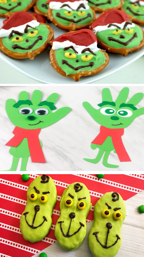 An amazing collection of Grinch crafts and activities for kids.  Make Christmas magical with these fun ideas! #grinch #grinchcrafts #grinchcraftspreschool #grinchactivitiesforkids #grinchmovie #grinchpartyideas #christmascraftsforkids #growingajeweledrose #activitiesforkids