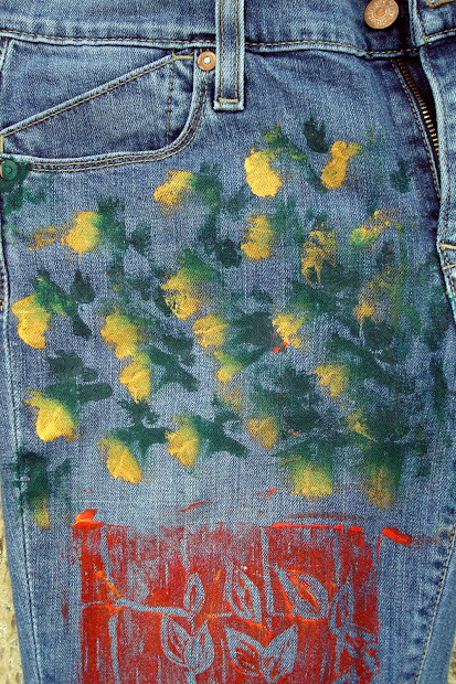 Squarecircleworks Freestyle Fabric Painting Expressions
