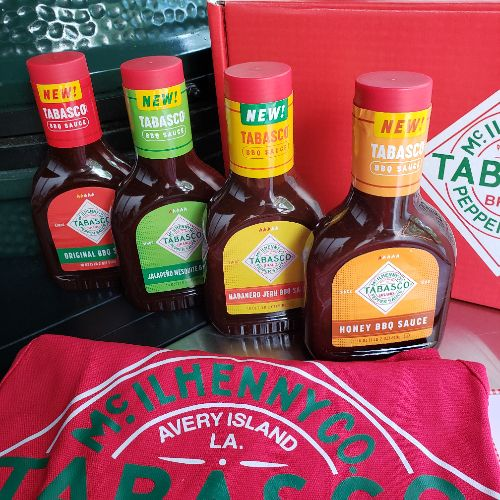 Tabasco's exciting new BBQ sauce line is spicy, sweet, and delicious.