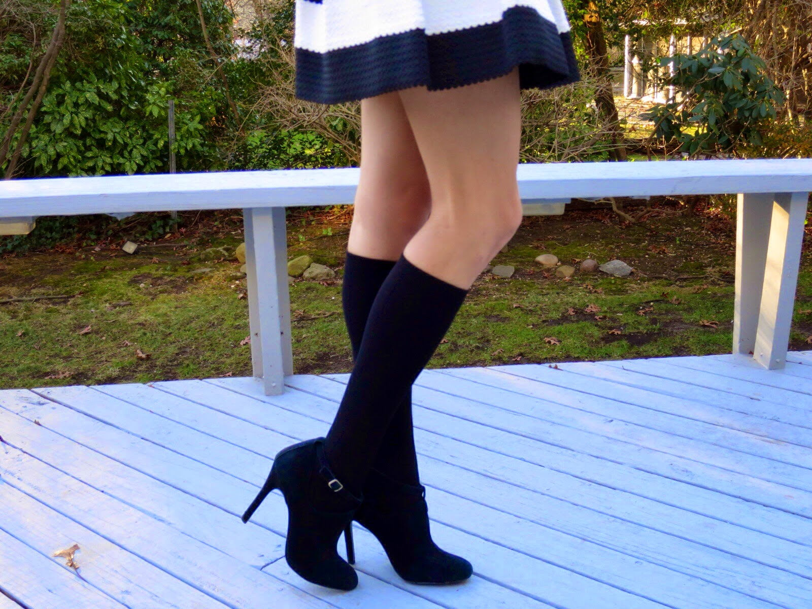 kushy foot knee high socks