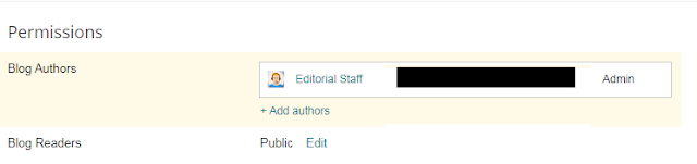 How to add multiple authors in blogger