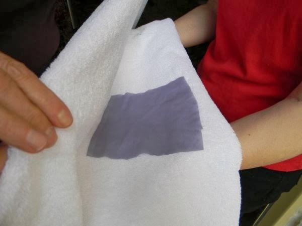 secar la tela ligera