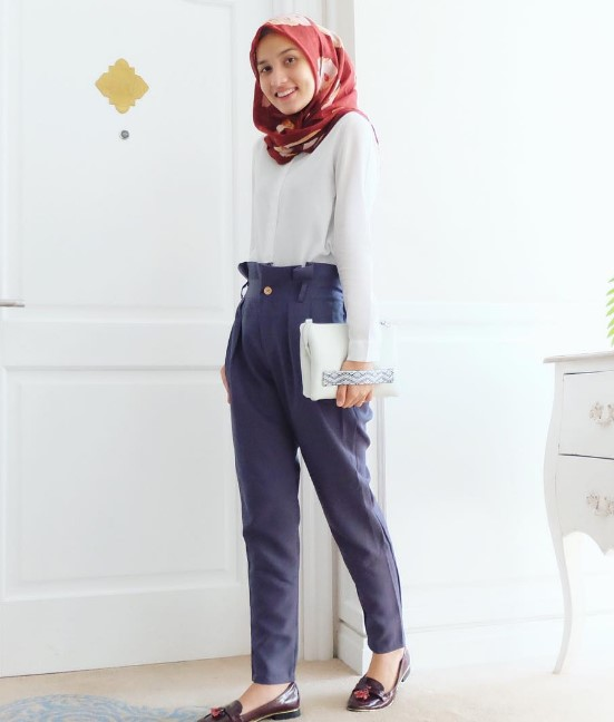 35 Koleksi Fashion Hijab Remaja 2018 Gaya Masa Kini Abg Keren Model Baju Muslim Terbaru 2018