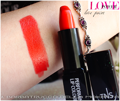 Lipstick Orange Red Love Power - nails lipstick -  Love Power Collection - TNS Cosmetics