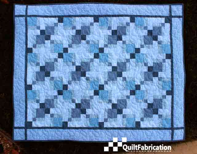 Double Disappearing 9-Patch Quilt