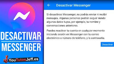desactivar messenger