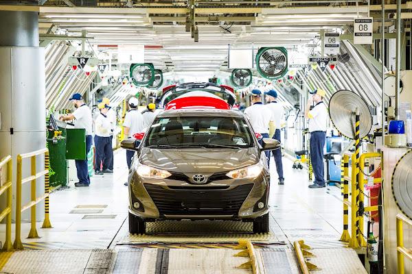 Toyota anuncia produção máxima na fábrica do Corolla Cross, em Sorocaba