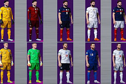 NEW Mega National Teams Kits Server - PES 2021