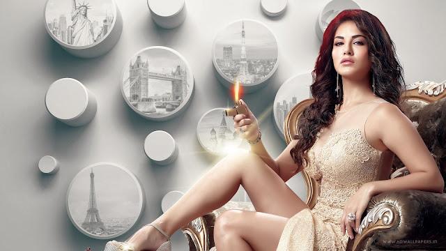 Sunny Leone fire Wallpaper