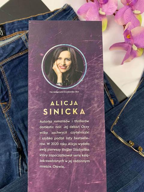 """""""Otwórz oczy"""" Alicja Sinicka"""