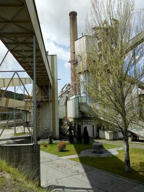 Fábrica de Cementos de La Robla | León | España | Visita a la fábrica más moderna de Europa