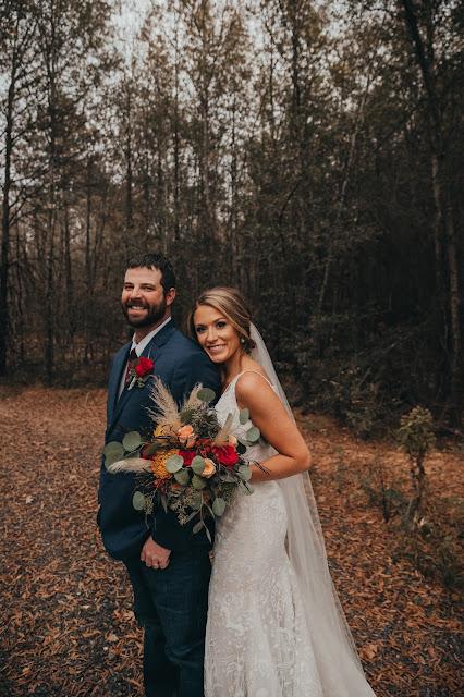 The Junkin Wedding - Bride and Groom