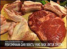 Inilah waktu dan cara penyimpanan Daging yang baik