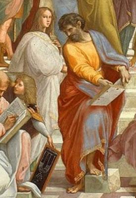 Fragmento de «La escuela de Atenas», de Rafael Sanzio (Museos Vaticanos)