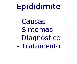 Epididimite causas sintomas diagnóstico tratamento prevenção riscos complicações