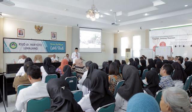 Rapat Koordinasi Peningkatan Pelayanan RSUD dr. Haryoto