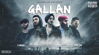 Gallan Lyrics - Krsna, Deep Kalasi, Fateh, Harjas & Karma