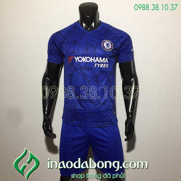 Áo bóng đá câu lạc bộ Chelsea xanh 2020