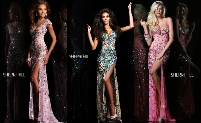Sherri Hill evening dresses