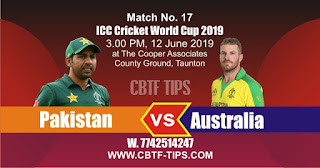 World Cup 2019 Match Prediction Tips by Experts PAK vs AUS