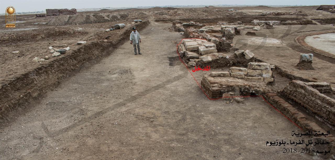Egypt unveils Graeco-Roman era building in North Sinai - The
