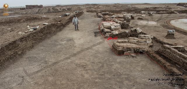 Egypt unveils Graeco-Roman era building in North Sinai