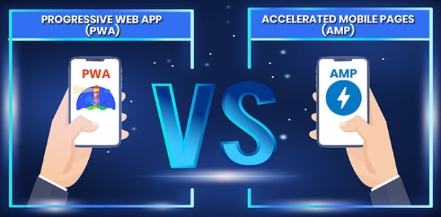 pwa vs amp websites progressive web app pros cons accelerated mobile pages google seo