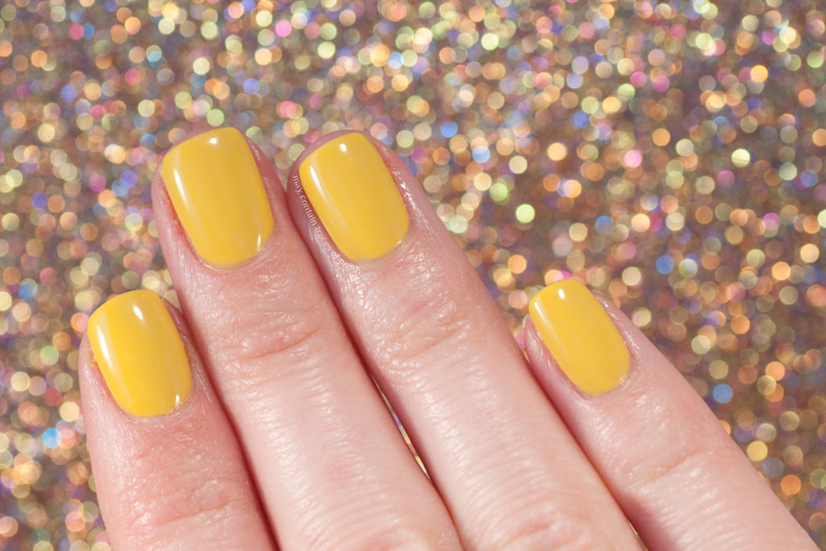 Pink Gellac Safari Collection Swatches - 314 Lion Yellow