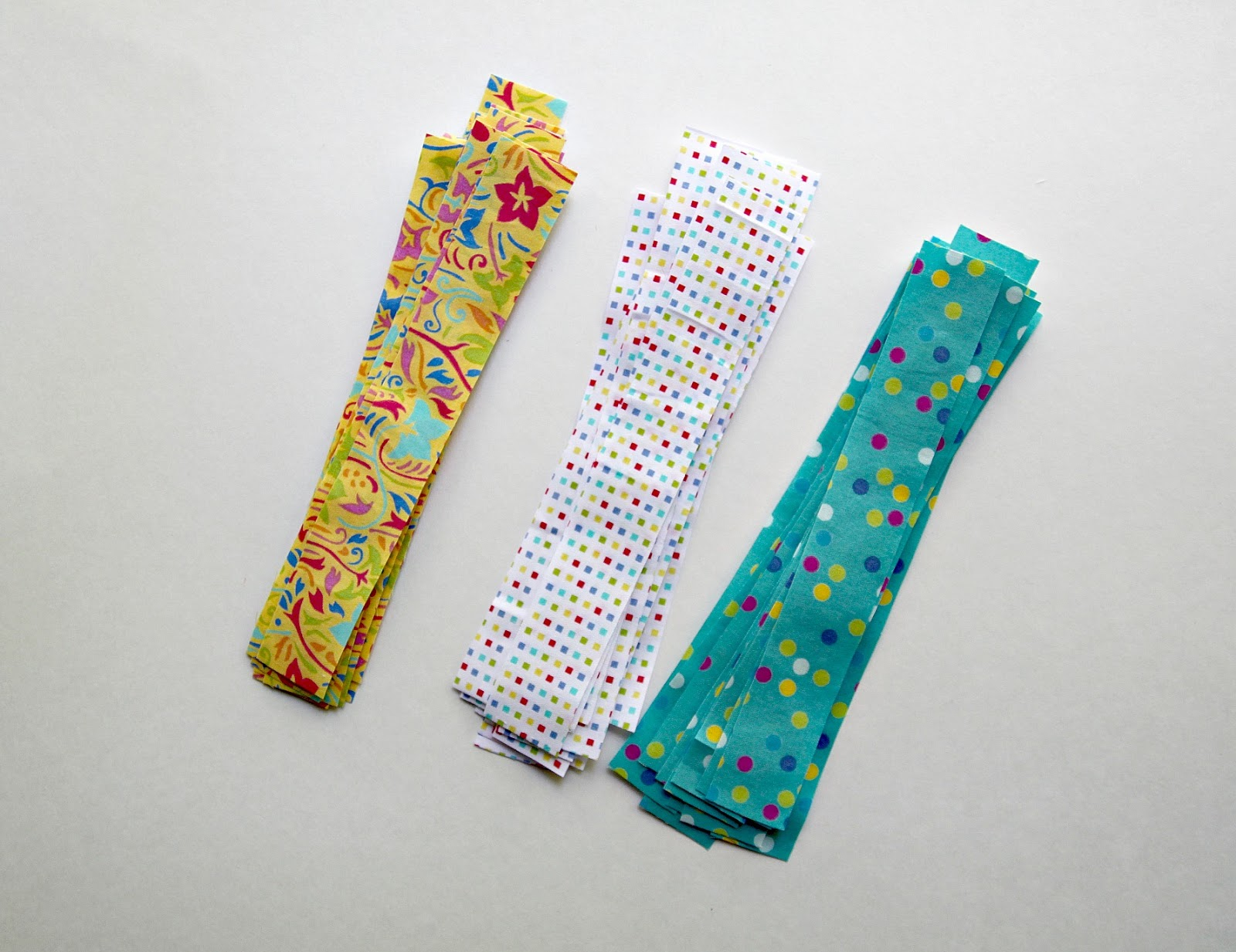 118707460da23 Pile up your fabric strips and get ready to embellish your flip flops!