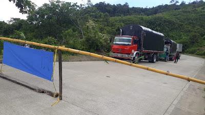 Indígenas del sector del 90 taponan nuevamente la vía Quibdó-Medellín
