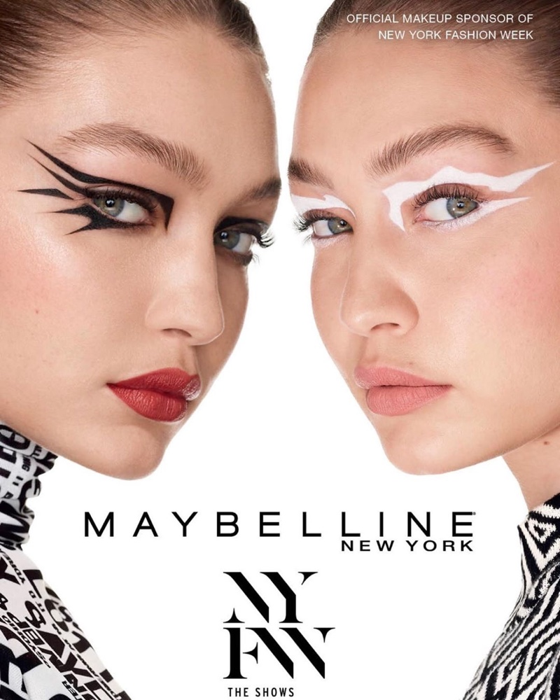 Gigi Hadid stars in Maybelline NYFW spring-summer 2020 campaign