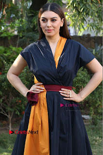 Actress Hansika Motwani Latest Pos at Bogan Movie Press Meet  0038.jpg