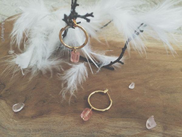 Collection Déesses des Cieux boucles d'oreilles Lucy Hokee Paris