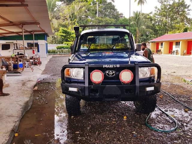 Toyota Landcruiser Open Back