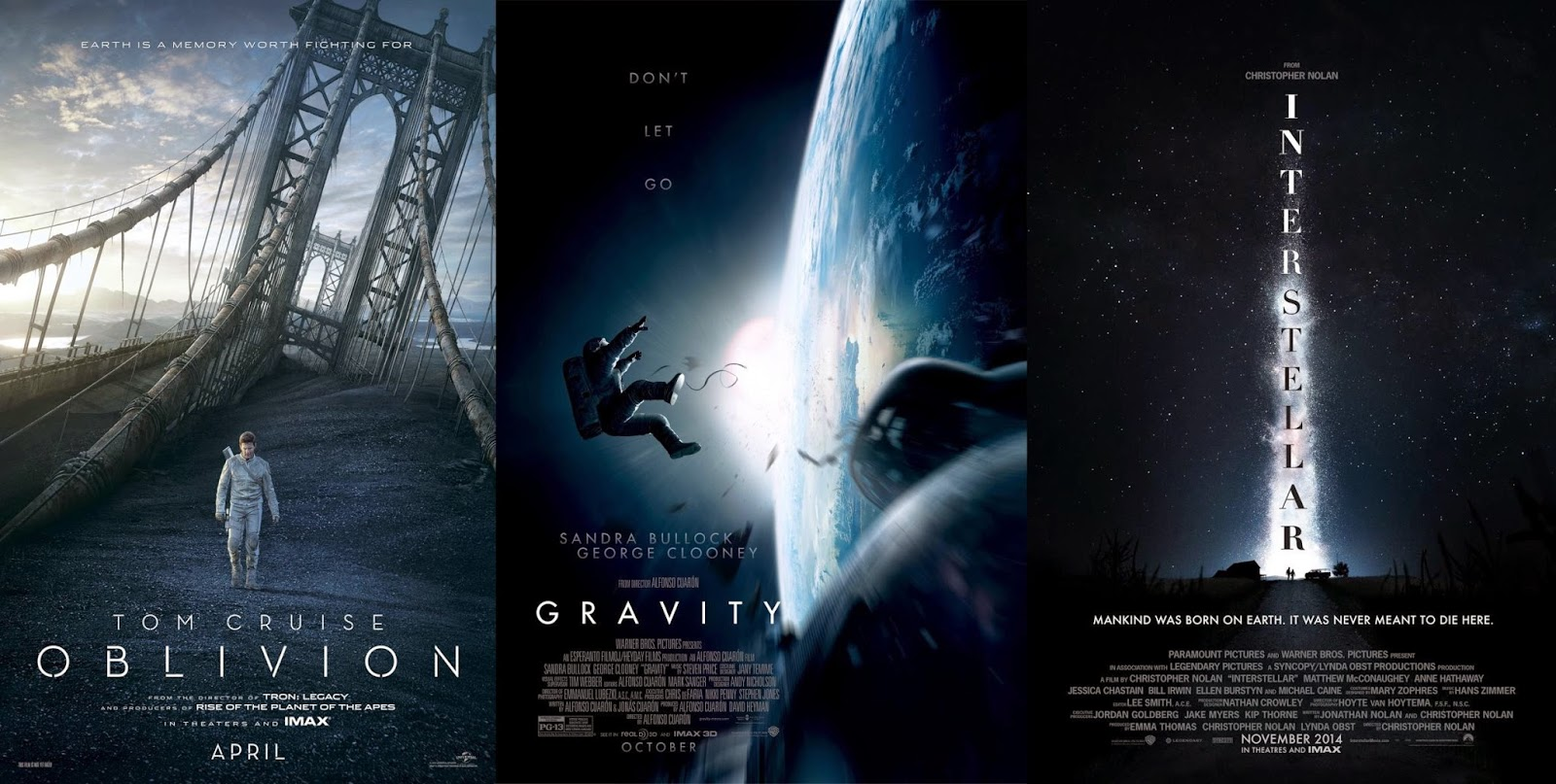 Oblivion Gravity Interstellar
