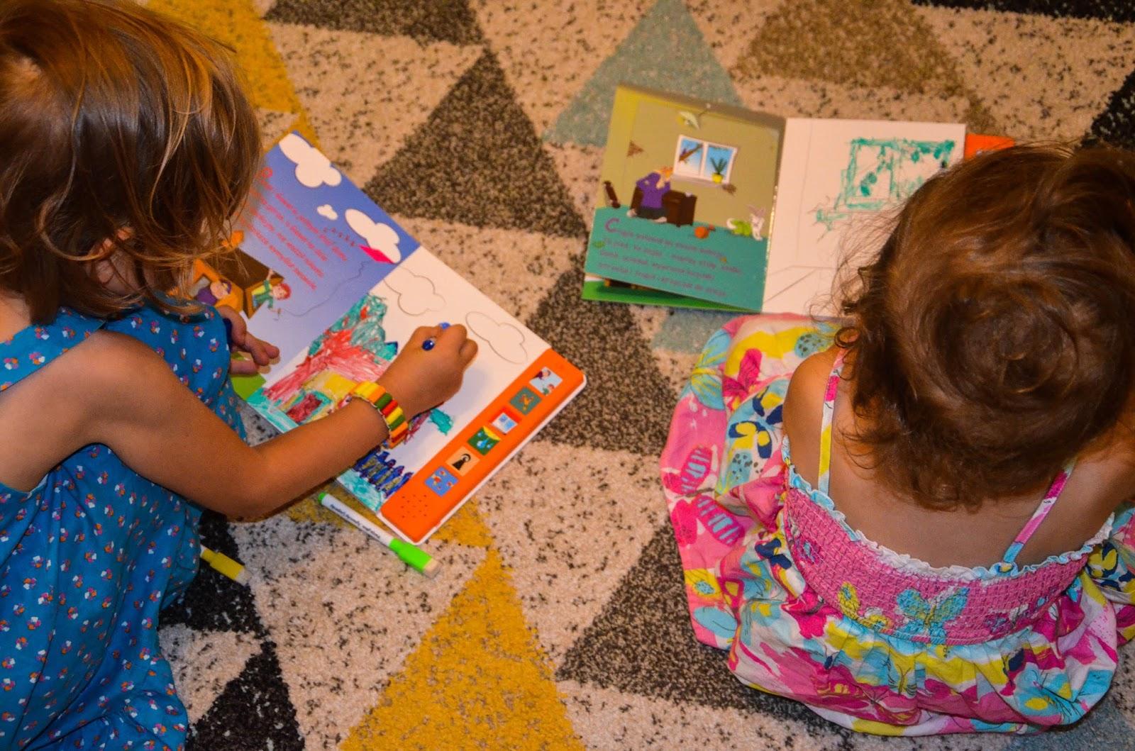 książki dla 2-latka, Pawełi i Gaweł do słuchania i kolorowania