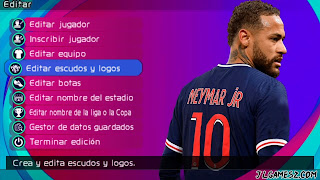 Saiu! eFOOTBALL PES 2022 PPSSPP ANDROID