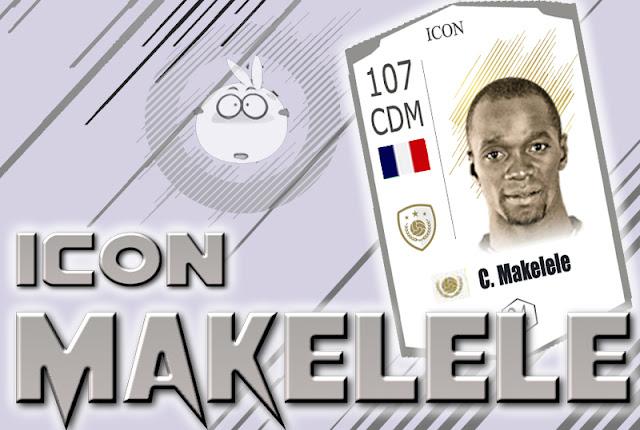 Review Claude Makélélé ICON Fifa online 4