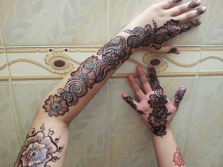 new bridal Mehndi designs 2014 ~ Pak Fashion  new bridal Mehn...