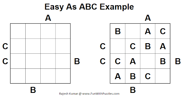 Easy As ABC puzzle example