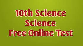 10th Science Free Online Test