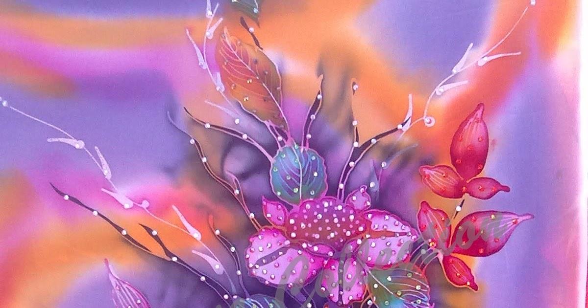 Indonesian Abstrak Batik: Corak Batik Lukisan Motif Abstrak