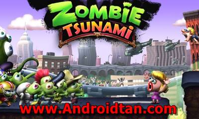 Download Zombie Tsunami Mod Apk v3.5.0 (Unlimited Money) Terbaru 2017